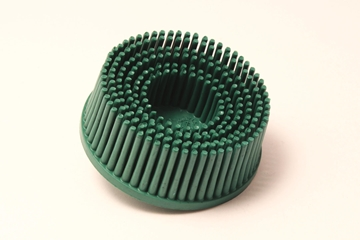 "Picture of 2"" GREEN ROLOC BRISTLE DISC 50 GRIT"