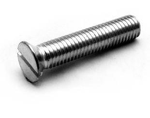 Picture for category Slot Flat Cap Screws